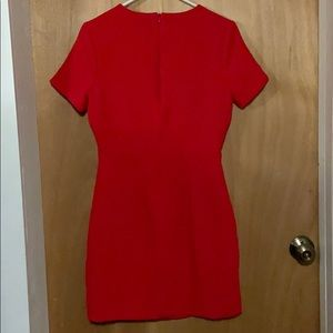 Rubber Ducky Productions, Inc. Dresses - Beautiful red t-shirt dress